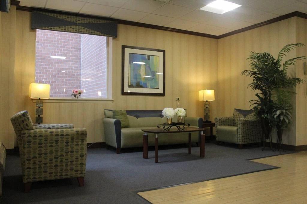 Lobby in Nassau Rehabilitation