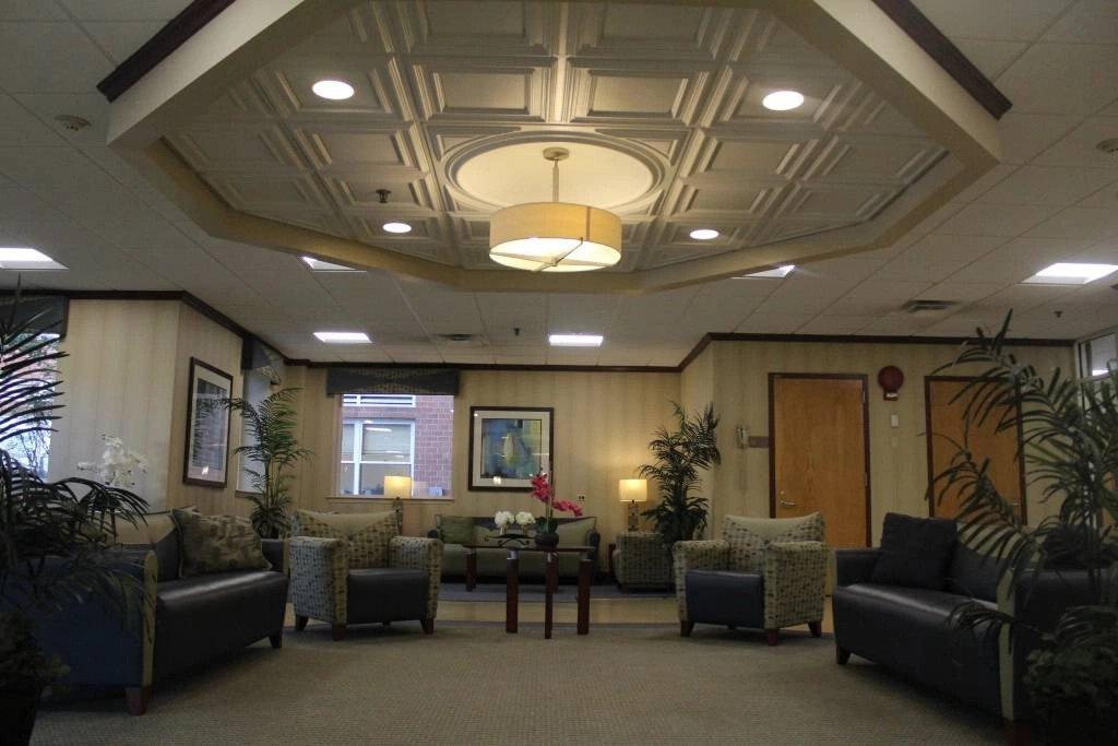 Interior of Nassau Rehabilitation & Nursing Center