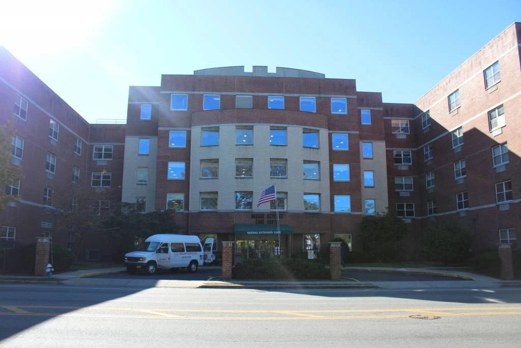 Exterior of Nassau Rehabilitation & Nursing Center